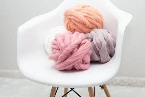 Chunky yarn Merino wool yarn Bulky yarn Arm knitting Giant yarn Super chunky