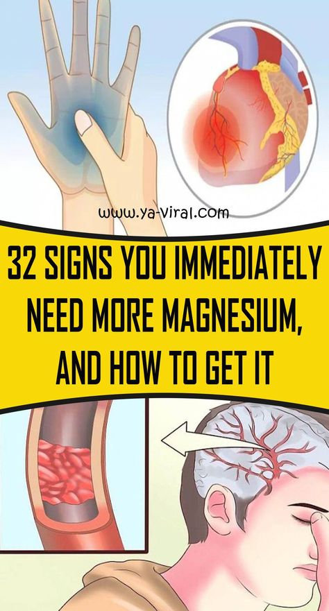At times, we frequently overlook the indications we experience, yet the insufficiency of a solitary supplement can prompt various wellbeing complexities. [32 SIGNS YOU #IMMEDIATELY #NEED MORE #MAGNESIUM, AND HOW TO GET IT [#Health And #Wellness] #FoodHealthTipsHealthTips