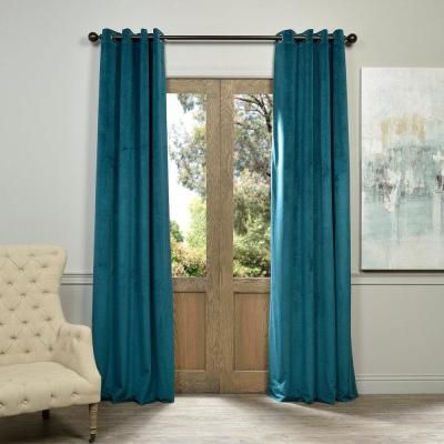 Exclusive Fabrics Furnishings Blackout Signature Everglade Teal
