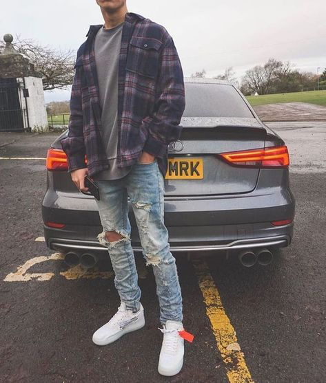 Dope 😍 or Nope 🤮? Rate This Outfit from 0 to – Best Women's and Men's Streetwear Fashion Ideas, Combines, Tips Mens Fall Outfits, Stylish Mens Outfits, Casual Outfits, Men Casual, Men Fashion Casual, Swag Outfits Men, Mens Casual Street Style, Style Men, Winter Flannel Outfits