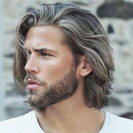 Langes Haar Modelle Frisur Fur Manner Langes Haar Haarschnitt Lange Haarmodelle Fri In 2020 Lange Haare Manner Haarschnitt Manner Haare Manner