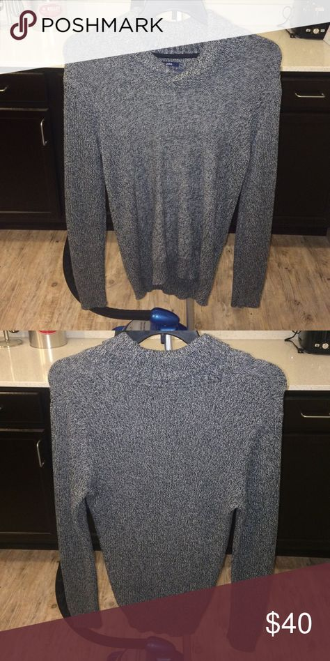 American Rag Shawl sweater Grey American Rag Shawl Sweater American Rag Sweaters