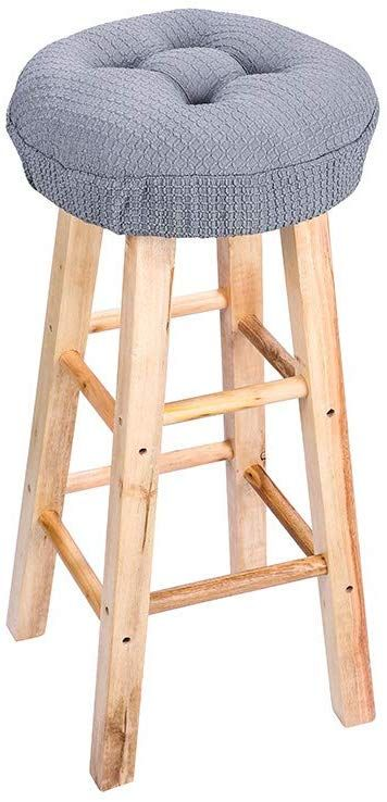 Custom Padded Bar Stool Cover With By Boutifuleeboutique On Etsy