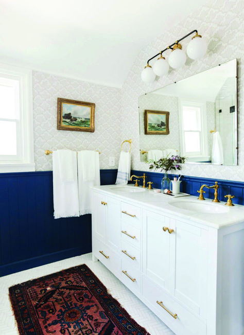 10 Paint Color Ideas For Small Bathrooms Homes Tre Bathroom Paint Colors Painting Bathroom Traditional Bathroom Vanity