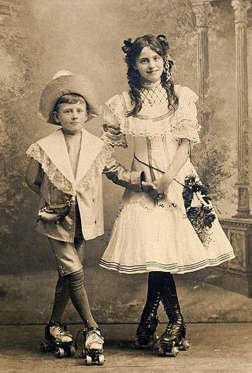 Roller skates, 19th-early 20th century in 2020 | Vintage children ...