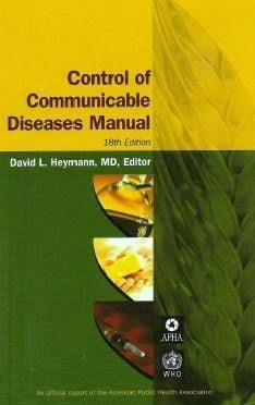 Control of Communicable Diseases Manual - 18th edition