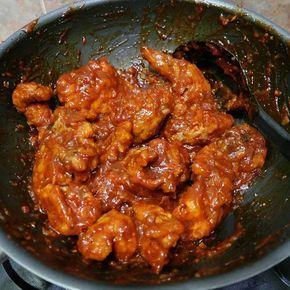 Resep Fire Chicken Ala Richeese With Cheese Sauce Ayam Pedas By Adelia Sharfina Resep Sayap Ayam Resep Masakan Makan Malam