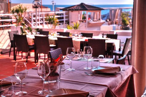 La Terrazza vista mare - Bagno Italia Restaurant Marina di Pisa ...