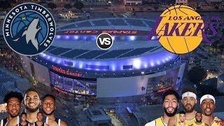 Here Are Some Rules Please Follow Them 1 No Tv Will Be Shown During This Stream Ask And You All Will Be Minnesota Timberwolves Los Angeles Lakers Lakers