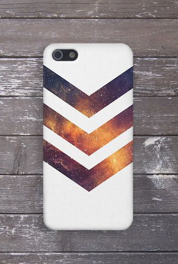 buy popular 231ba 7161b White Chevron Galaxy Stars Case, iPhone Xs, iPhone 8 Plus ...