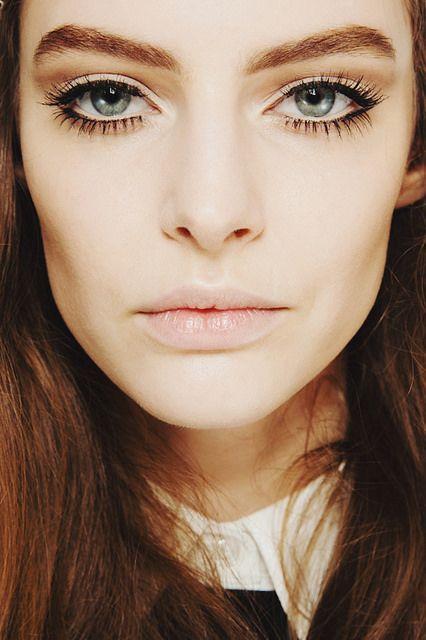 {style inspiration | backstage beauty : make up at gucci fall 2014} | Flickr - Photo Sharing!
