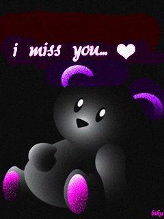I Miss You (TEDDY BEAR)