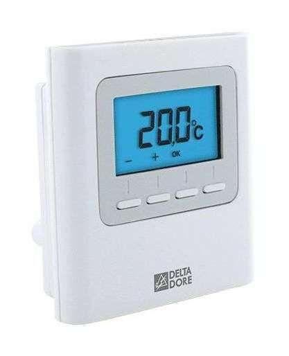 Thermostat Et Programmateur De Temperature Digital Alarm Clock Alarm Clock Clock