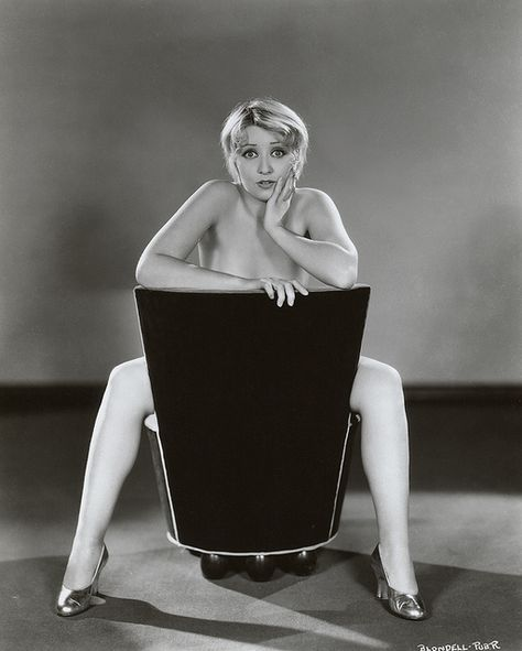 Joan Blondell (1931) - After winning a beauty pageant, Blondell embarked upon a film career. Establishing herself as a sexy wisecracking blonde, she was a pre-Code staple of Warner Brothers and appeared in more than 100 movies and television productions. She was most active in films during the 1930's, and during this time she co-starred with Glenda Farrell in nine films, in which the duo portrayed gold-diggers.