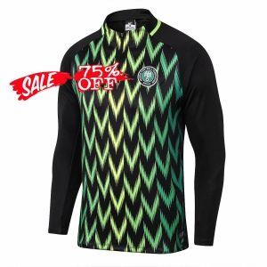 low priced 86d80 33272 2018 World Cup Nigeria Black Replica Drill Top [CFC335 ...