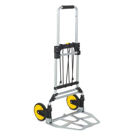 Hand Truck Moving Dolly Trolley Steel Push Cart 400 lb Capacity Lightweight
