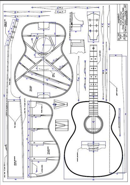 How To Make An Acoustic Guitar Music Instruments Guitar Luthier Guitar Guitar Building