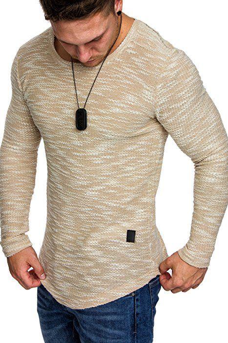 Shoppen Sie Amaci&Sons Oversize Vintage Herren Pullover