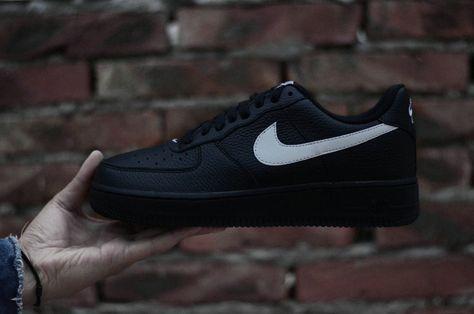 best sneakers 71e88 f8ca4 Nike Air Force 1 07 Black Mens low-top Sneaker AA4083-001