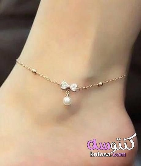 خلخال للقدم ذهب اشكال خلخال فضه بالصور خلخال هندي Kntosa Com 07 19 156 Beautiful Anklet Ankle Jewelry Anklets