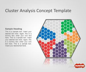 Free cluster analysis template for it presentations and data free cluster analysis template for it presentations and data mining or clustering presentations in powerpoint great web based resources pinterest toneelgroepblik Image collections