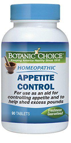 Botanic Choice Homeopathic Appetite Control Formula 300 Mg 90