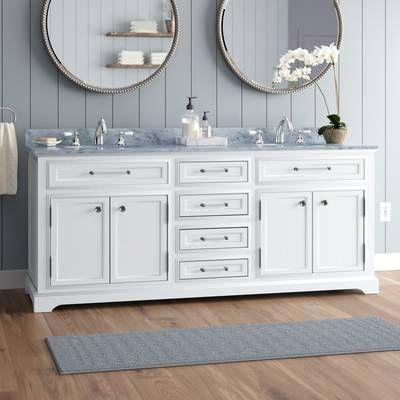 Newtown 60 Double Bathroom Vanity Set In 2020 Double Vanity