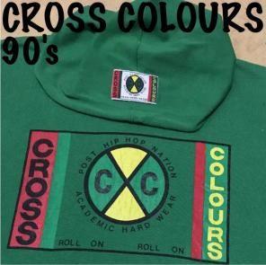 90's CROSS COLOURS vintage パーカー   パーカー