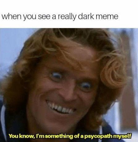 Psychopaths Memes Dark Humor Jokes Bipolar Memes Psychopath Memes