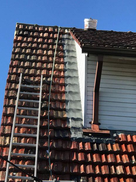 Roofrepairing Sydney Isn T Always A Major Job And It Can Be As Small As Sealing A Hole Removing A Few Tiles Or Fast With Images Roof Restoration Roof Paint Roof Repair