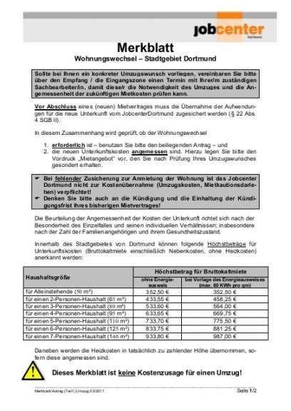 Charmantfrohlich Mietangebot Vorlage Fur Jobcenter Jobcenter Job Vorlagen