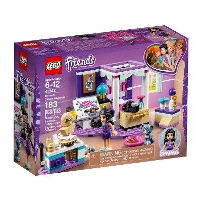 Lego Friends Emma S Deluxe Bedroom 41342 Lego Friends Lego Friends Sets Lego Friends Party