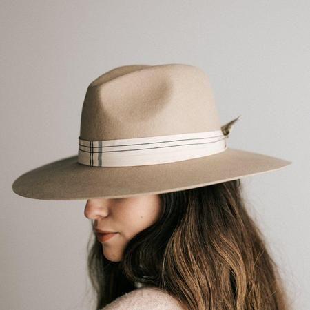 Scottie Black Stiff Wide Brim Hat Hats For Women Hat Band Plaid Hats