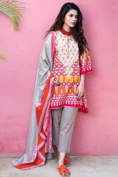 Khaadi Latest Summer Lawn Dresses Designs Collection 2020 Latest