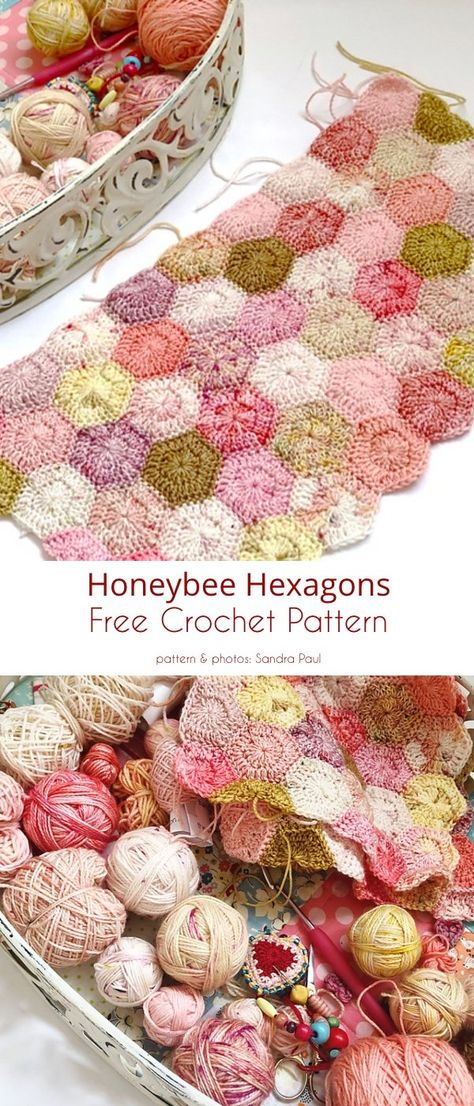 Crochet Blocks, Crochet Squares, Crochet Blanket Patterns, Crochet Motif, Crochet Stitches, Knitting Patterns, Crochet Afghans, Crochet Blankets, Crochet Granny