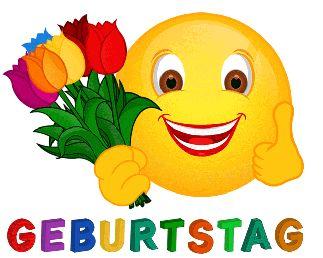 Smiley Tulpen Zum Gebuirtstag Smiley Geburtstag Geburtstag