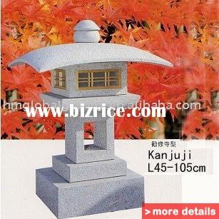G603 G633 Granite Stone Lantern Japanese Style China Stone
