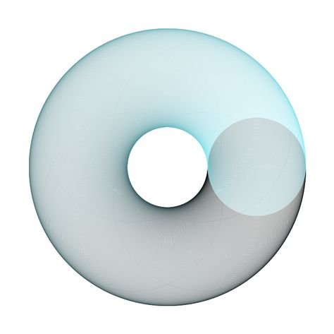 Circular explorations with color. Made in 2009.