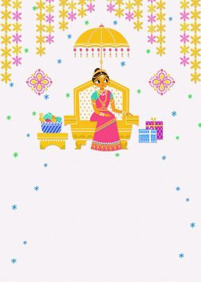 Dear All I Cordially Invited You All For Saree Function Of My Daughter Baragada Sudheera On 30 9 2018 Half Saree Function Half Saree Indian Invitation Cards