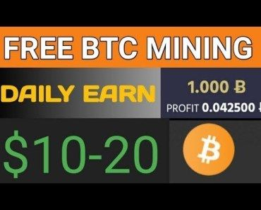 Top Best 6 Bitcoin Cloud Mining Site Daily Earn 20 Free Free Signup Bonus Payment Proof Bitcoin News Free Bitcoin Mining Cloud Mining Bitcoin Mining