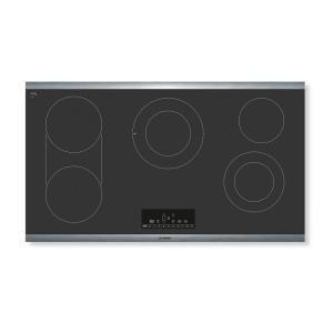 Electrolux 36 In Smooth Surface Electric Cooktop In Stainless Steel With 5 Elements Including Flex 2 Fit Elemen In 2020 Electric Cooktop Cooktop Stainless Steel Frame
