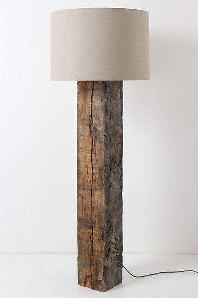 Gwinnett Floor Lamp Rustic Floor Lamps Wooden Floor Lamps Wood Floor Lamp Distressed wood table lamp