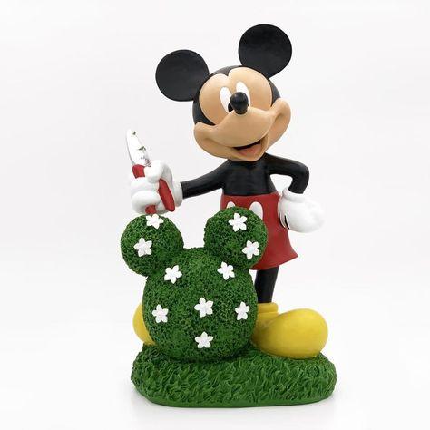 Disney 14 In Mickey Garden Statue 06 335 32 In 2020 Disney