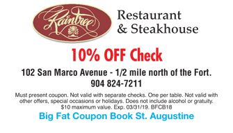 Raintree Restaurant Coupon Restaurant Coupons Coupon Book Restaurant