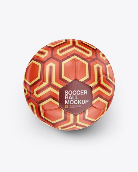 Download Soccer Ball Mockup High Angle Shot In Object Mockups On Yellow Images Object Mockups Mockup Free Psd Mockup Free Mockup
