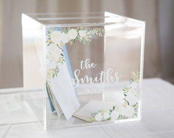 Wedding Card Box Etsy Card Table Wedding Card Box Wedding Wedding Cards