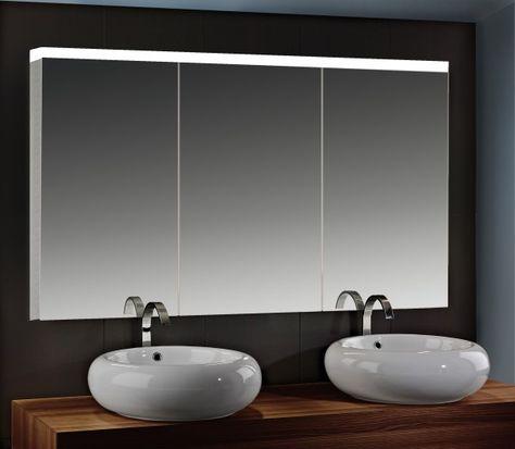 Spiegelschrank Mit 3 Turen Spiegelschrank Schrank Badezimmer