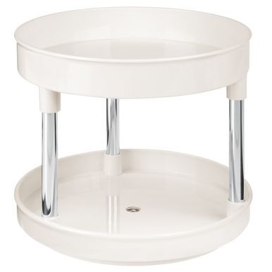 2 Tier Lazy Susan For Bathroom Storage 9 Diameter Bathroom Storage Lazy Susan Pink Laundry Rooms