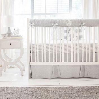 Buffalo Plaid Crib Bedding Set Khaki Nursery Bedding Collection