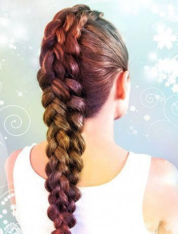 Hairstyle Ideas To Do At Home Hairstyle Ideas Thin Hairstyle Ideas For Off The Shoulder Dress Hairsty In 2020 Hair Styles Rope Braided Hairstyle Medium Hair Styles